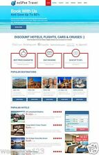 Turnkey Hotel/Flight/Car Booking Website - 100% AutoPilot $0.5 - $3 lead