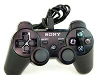 Genuine Sony Dualshock 3 Wireless Controller CECHZC1U Black PlayStation PS3