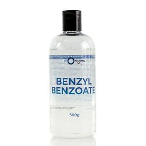 Mystic Moments   Benzyl Benzoate - 500g (RM500BENZBENZ)
