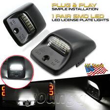 2x Led License Plate Light Kit Rear Bumper White Lamp For Toyota Tacoma Tundra