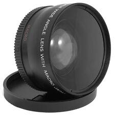55mm 0.45X Wide Angle + Macro Lens for Panasonic Sony Nikon Canon Pentax Olympus