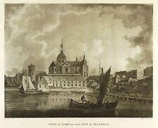 MANNHEIM - JESUITENKIRCHE & SCHLOSS - Gardnor - Aquatinta 1788