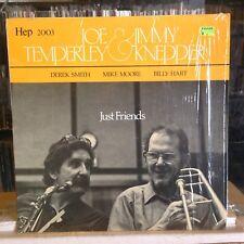 [JAZZ]~NM LP~JOE TEMPERLEY & JIMMY KNEPPER~Just Friends~{OG 1979~HEP~UK IMPORT]~