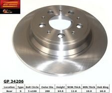 Disc Brake Rotor fits 1999-2008 Volvo S80 V70 S60  BEST BRAKES USA