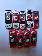 NASCAR DIECAST 1:64 CAR #8 SOLD AS A SET