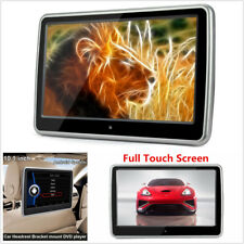 "10.1""HD Touch Screen Car Headrest Monitor DVD Player Game USB/SD/IR/FM Enterance"