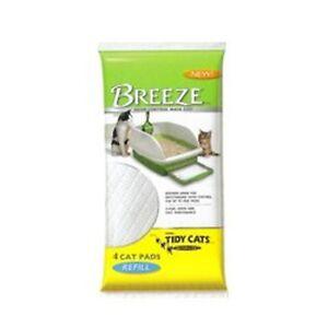 "Tidy Cat BREEZE Cat Refill Pads 16.9"" x 11.4"" - (4 packs - 4ct)"