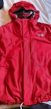 NORTH FACE MEN'S HYVENT WATERPROOF JACKET WITH HOOD  XL-excellent condition