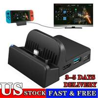 For Nintendo Switch Portable HDMI TV Docking Station Charging Dock Replacement