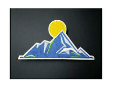 Mountains - Blue Mountains - Sunset - Sunrise  - Embroidered Iron On Patch