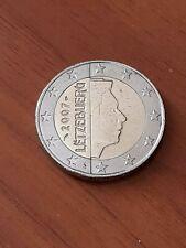 2 euro Luxembourg 2007 rare