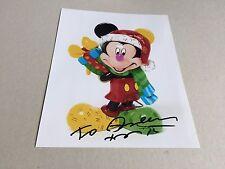 Romero BRITTO IN-persona SIGNED PHOTO 20x25