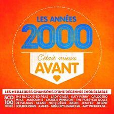 CD de musique en coffret digipack Années 2000