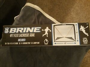Brine Lacrosse Goal 4 x 4 Feet, New In the Box  MORE LACROSSE ITEMS IN MY STORE