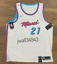 Nike Miami Heat Mens Hassan Whiteside #21 City Edition Vice Swingman Jersey