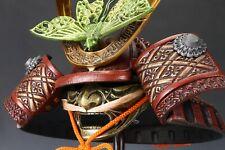 Japanese Samurai Kabuto Helmet -No stock Butterfly Deco-