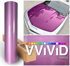 Purple laminated hi-gloss tech art 6.5ft x 5ft carbon fiber car wrap film decal