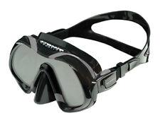 Atomic Aquatics Venom Dive Mask for FreeDiving Scuba Snorkeling Black/Gray