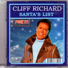 CD Single Cliff RICHARD Santa's List 'POCK iT!'  ltd ed