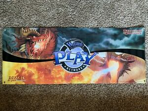 Huge Wizards Play Network Vinyl Dungeons & Dragons Retail Banner |D&D/MTG Poster
