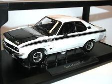 Norev 183634, Opel Manta GT/E Baujahr 1974-1975, weiß/schwarz, 1:18 neu