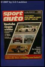Sport Auto 3/80 VW Iltis BMW M 535 Alpine A310 + Poster