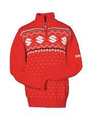 Suzuki Genuine Branded Unisex Christmas Jumper Warm Winter Cardigan Sweater