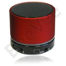 RED BLUETOOTH WIRELESS MINI PORTABLE SPEAKER FOR IPHONE SAMSUNG HTC LG IPAD MP3