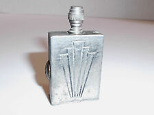 Vintage Art Deco PERMANENT MATCH by U.S. Match Company of Gary Indiana Pat Pend