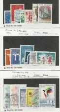 Finland, Postage Stamp, #685-98, 707-8, 710, 729 Used, 709 Mint, 1983-85