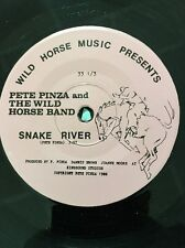 "Pete Pinza And The Wild Horse Band ""Johnny Be Bad""/""Snake River"" 33 Rpm Rare!!!"
