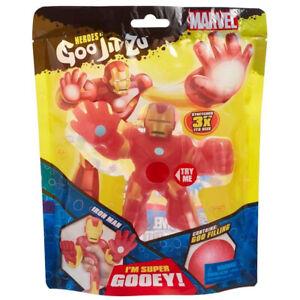 Heroes of Goo Jit Zu Iron Man Figure Marvel with Gooey Filling
