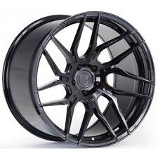 21x9/10.5 Rohana RFX7 5x120 +20 Gloss Black Rims (Set of 4)