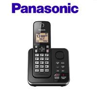 Panasonic KX-TGC362B Cordless 1 Handset Landline Telephone w/ Answering Machine