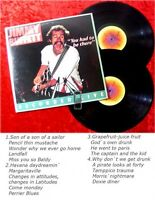 2LP Jimmy Buffet: You had to be there... Recorded Live