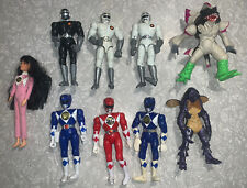 Mixed LOT MIGHTY MORPHIN POWER RANGERS and POWER BOTS