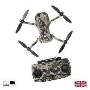 Desert Camo Waterproof PVC Stickers Decal Skin DJI MAVIC Mini Drone