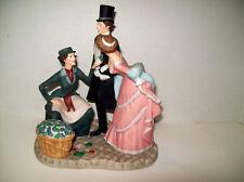 1984 Franklin Porcelain -Fp Covent Garden Figurines