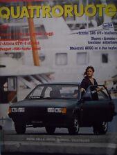 Quattroruote 310 1981 - Test Ritmo 125 CV - Maserati 2000cc e 2 turbo  [Q42]