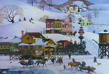 .PUZZLE.....JIGSAW.....PETTES......Meeting The Train......500pc..