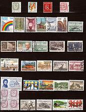 FINLANDE -SUOMI bloc et timbres ,sujets divers   82m210T5