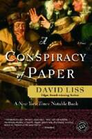A Conspiracy of Paper: A Novel (Ballantine Reader's Circle) - Paperback - GOOD