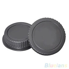 New Camera Body Cover Case+Back Lens Cover Rear Cap For Canon EOS DSLR Accessory