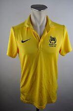 Nike Polo AFC ASIAN CUP Australia 2015 gelb Gr. S rar Fußball Asienmeister