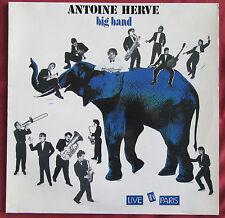ANTOINE HERVE   LP ORIG FR  BIG BAND LIVE IN PARIS