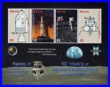NEVIS 2008 SPACE EXPLORATION M/S APOLLO 11 SC#1544 MNH CV$7.00 ASTRONOMY