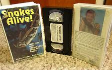 SNAKES ALIVE educational Caring For Pet Snake habitat types Ron Henriques VHS