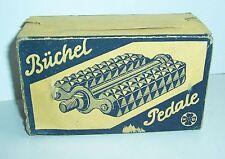 Leerer Originalkarton Büchel Pedale Fahrradpedale um 1940 Oldtimer Accessoire !