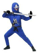 Costume Cosplay Halloween Ninja Avenger New Child 4-6 yrs see measures