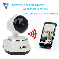 HD 720P Wifi Baby Monitor Camera 2 Way CCTV Video PT Night Intercom Audio IR